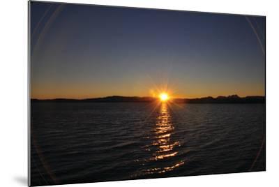 Water Sundown II-Logan Thomas-Mounted Photographic Print