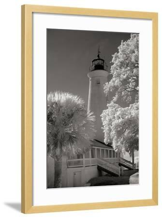 St. Marks Lighthouse-George Johnson-Framed Photographic Print