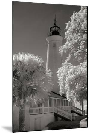 St. Marks Lighthouse-George Johnson-Mounted Photographic Print