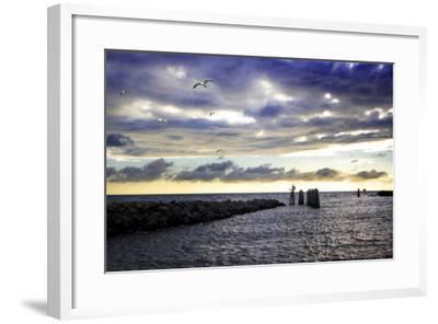 Cedar Island Quay I-Alan Hausenflock-Framed Photographic Print