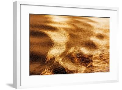 Golden Water I-Kathy Mahan-Framed Photographic Print