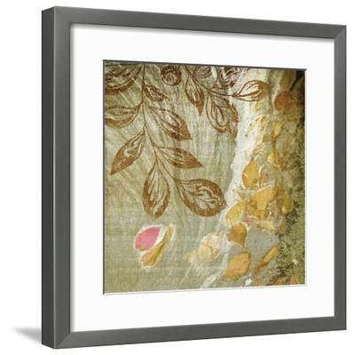 Gold Swirl I-Studio 2-Framed Photographic Print