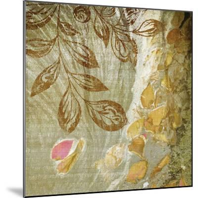 Gold Swirl I-Studio 2-Mounted Photographic Print