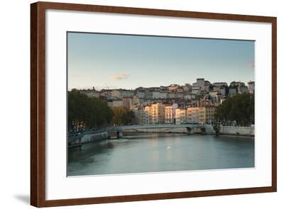 The Saone in Lyon I-Erin Berzel-Framed Photographic Print