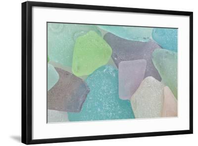Beach Glass II-Kathy Mahan-Framed Photographic Print