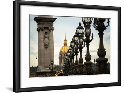 Pont Alexandre II-Erin Berzel-Framed Photographic Print