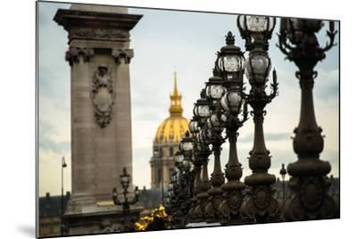 Pont Alexandre II-Erin Berzel-Mounted Photographic Print