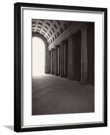 Ducal Palace. Passage for Carriages-Tommaso Minardi-Framed Photographic Print