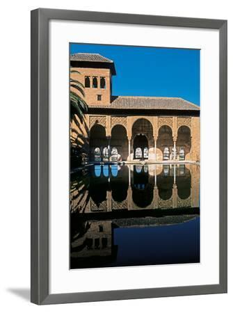 Alhambra, Palace of the Partal, 14th Century--Framed Photographic Print