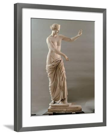 Statue of Aphrodite Type Capua, 2nd Century, White Marble, Full Relief--Framed Photographic Print