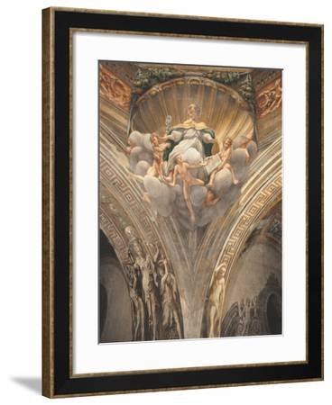 Assumption of the Virgin-Correggio-Framed Photographic Print