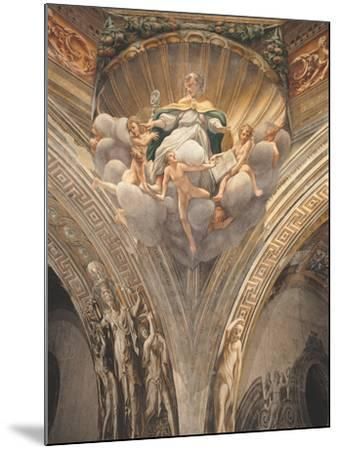 Assumption of the Virgin-Correggio-Mounted Photographic Print