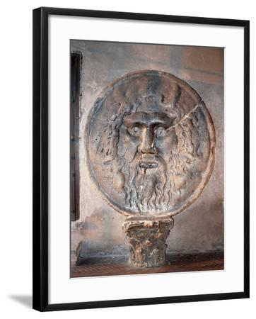 Mouth of Truth--Framed Photographic Print