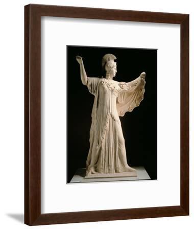 Athena Promachos (Athena), 1st Century, Marble, Full Relief--Framed Photographic Print