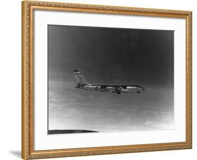 A B-57 of the United States Air Force Weather Agency--Framed Photographic Print