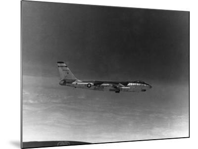 A B-57 of the United States Air Force Weather Agency--Mounted Photographic Print