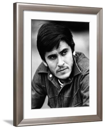 Gianni Morandi Gazing Intensely--Framed Photographic Print