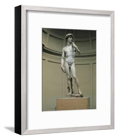 David-Michelangelo Buonarroti-Framed Photographic Print