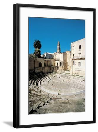 Roman Theatre - Lecce, 1st Century, Stone--Framed Photographic Print