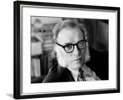 Portrait of Isaac Asimov--Framed Photographic Print