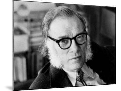 Portrait of Isaac Asimov--Mounted Photographic Print