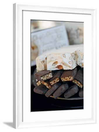 Benevento Nougat and San Marco of Cavoti Nougat--Framed Photographic Print
