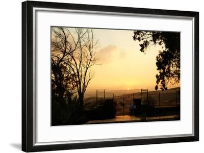 Galilee Landscape from Mount of Beatitudes-Roberto Salomone-Framed Photographic Print