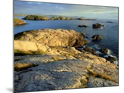 Coast at Sheigra in Evening Light, Scotland-Iain Sarjeant-Mounted Photographic Print