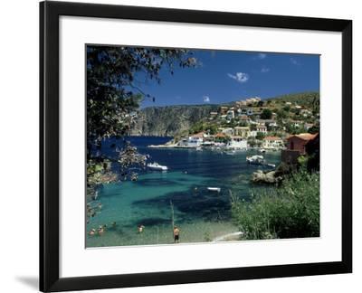 Asos, Greece-David Cayless-Framed Photographic Print