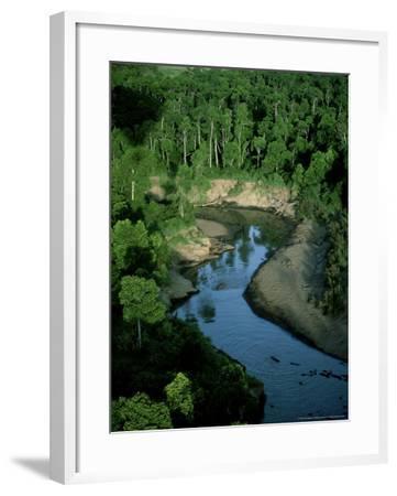 Mara River, Kenya, East Africa-Martyn Colbeck-Framed Photographic Print