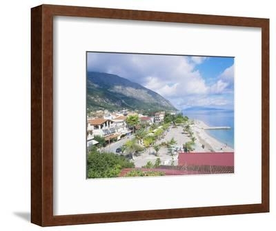 Kefalonia, the Beach at Poros-Ian West-Framed Photographic Print