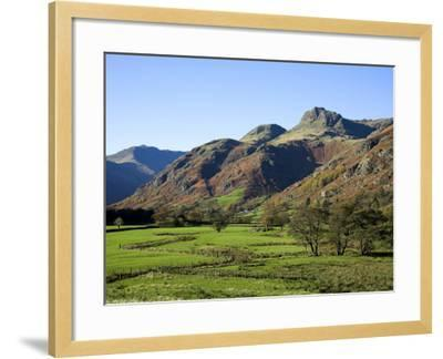 Langdale Valley in the Lake District, UK-David Clapp-Framed Photographic Print