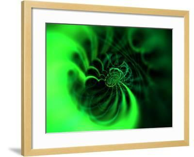 Abstract Green Design-Albert Klein-Framed Photographic Print