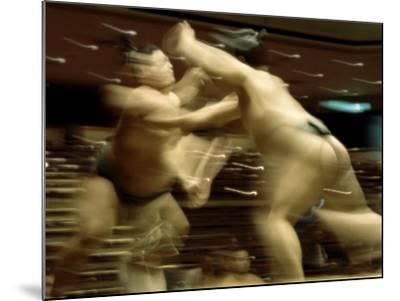 Sumo Wrestling Japan--Mounted Photographic Print