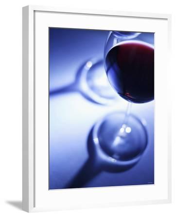 A Glass of Red Wine-Joerg Lehmann-Framed Photographic Print
