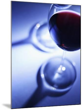 A Glass of Red Wine-Joerg Lehmann-Mounted Photographic Print