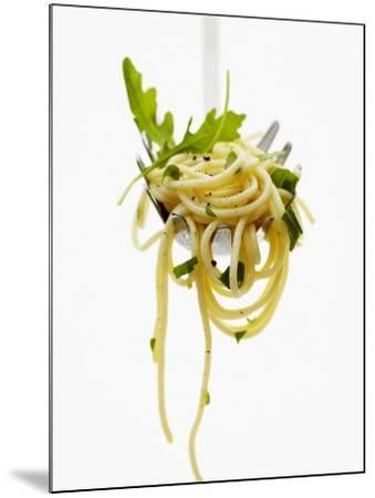 Spaghetti with Rocket on Spaghetti Server-Marc O^ Finley-Mounted Photographic Print