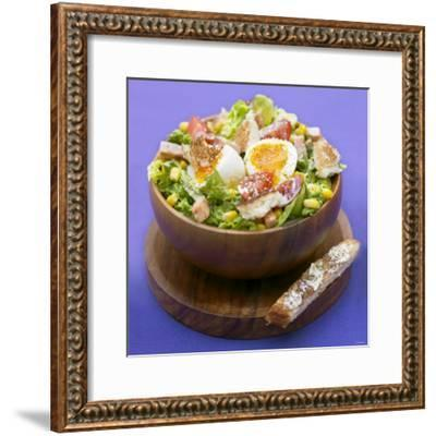 Mixed Salad with Chicken Breast and Egg-Bernard Radvaner-Framed Photographic Print