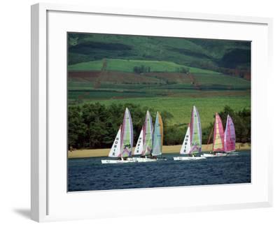 Kaanapali Maui, Hawaii, USA--Framed Photographic Print
