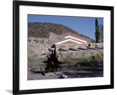 Taliesin West by Frank Lloyd Wright, Arizona, USA--Framed Photographic Print