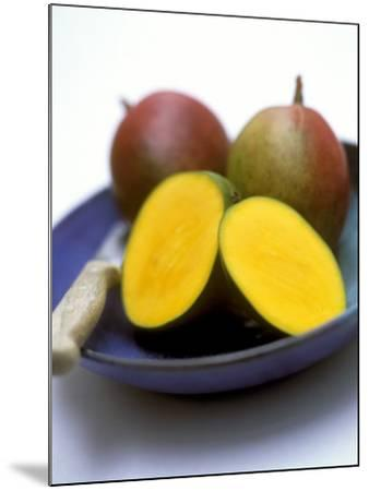Mangos, One Cut Open-William Lingwood-Mounted Photographic Print