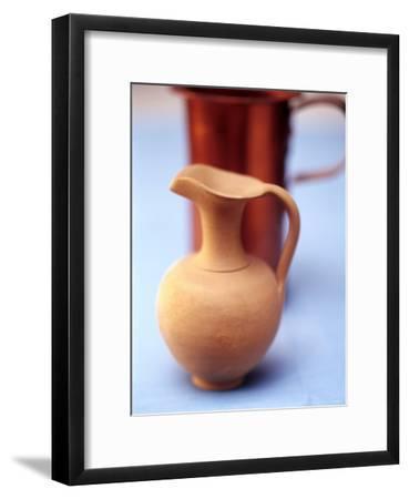 Clay Jug--Framed Photographic Print
