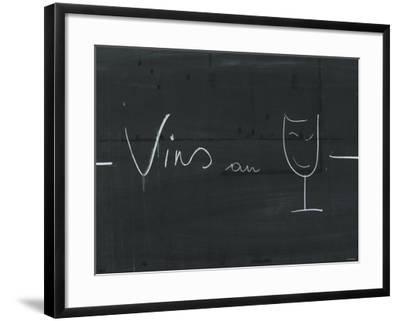 Bistro Board-Joerg Lehmann-Framed Photographic Print