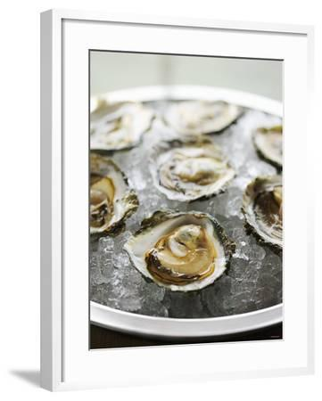 Oysters on Ice-Matilda Lindeblad-Framed Photographic Print