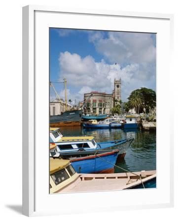 Brigetown, Barbados--Framed Photographic Print