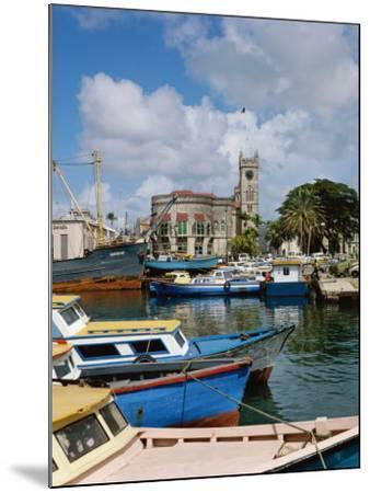 Brigetown, Barbados--Mounted Photographic Print