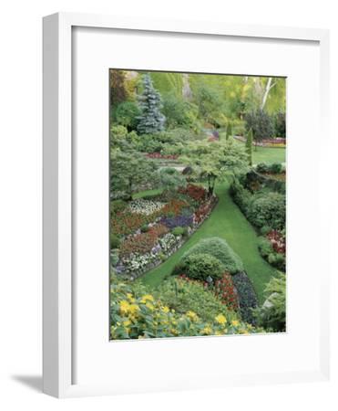 Butchart Gardens, Victoria, Canada--Framed Photographic Print