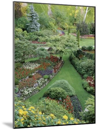 Butchart Gardens, Victoria, Canada--Mounted Photographic Print