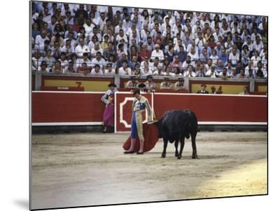 Bullfight, Pamplona, Spain--Mounted Photographic Print