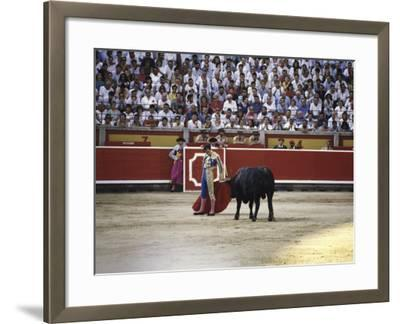 Bullfight, Pamplona, Spain--Framed Photographic Print